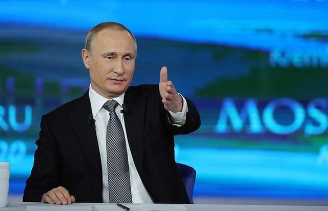 การสนทนาครั้งที่ 17ระหว่างประธานาธิบดีรัสเซีย วลาดีเมียร์ ปูติน กับประชาชน - ảnh 1