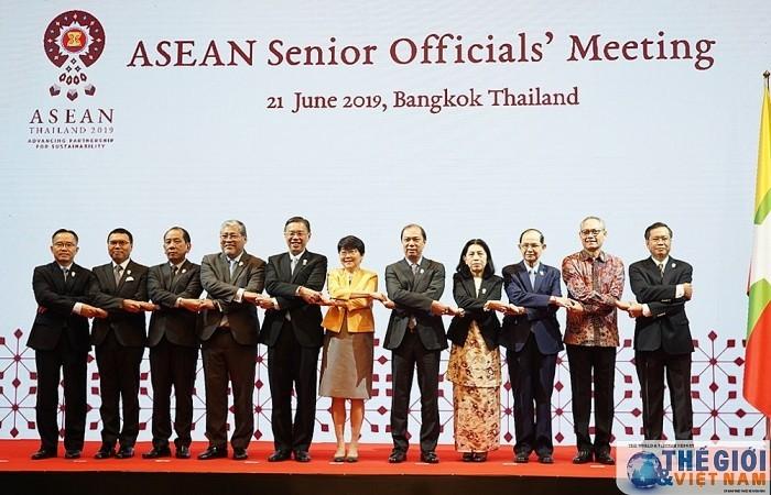 เปิดการประชุมรัฐมนตรีอาเซียน - ảnh 1