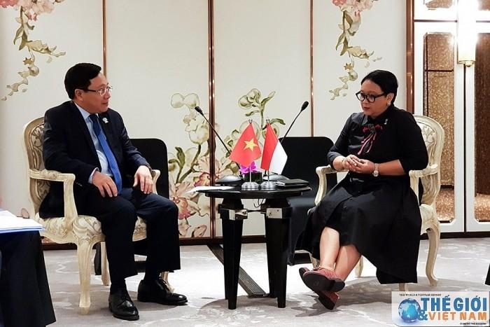 เวียดนามและอินโดนีเซียผลักดันการเจรจาเกี่ยวกับการกำหนดเขตเศรษฐกิจจำเพาะ  - ảnh 1
