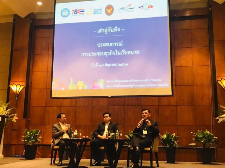 สถานทูตไทยจัดคณะสำรวจโอกาสการลงทุนในเวียดนามและตอนใต้ของจีน - ảnh 1