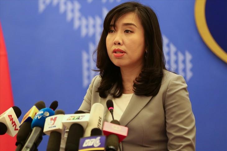 เวียดนามพร้อมสนทนากับสหรัฐเกี่ยวกับปัญหาความแตกต่างด้านมนุษยธรรม - ảnh 1