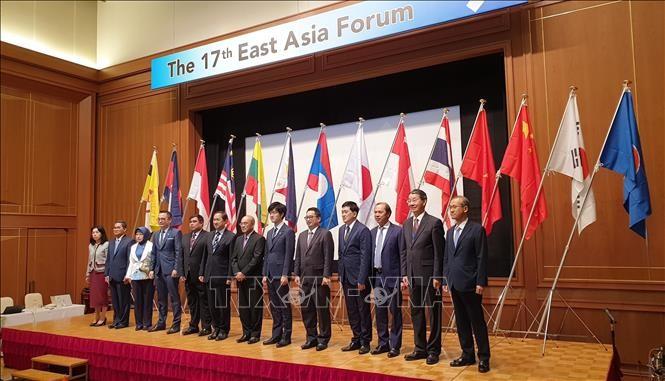 รัฐมนตรีช่วยว่าการกระทรวงการต่างประเทศ เหงวียนก๊วกหยุง เข้าร่วมฟอรั่มเอเชียตะวันออกครั้งที่ 17  - ảnh 1