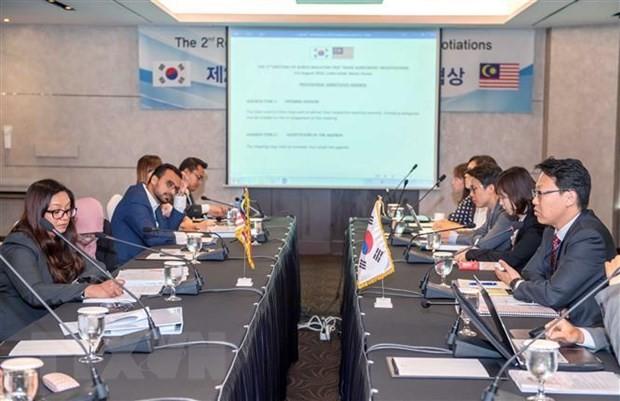 สาธารณัฐเกาหลีและมาเลเซียทำการเจรจารอบที่ 2 เกี่ยวกับข้อตกลงเอฟทีเอ - ảnh 1