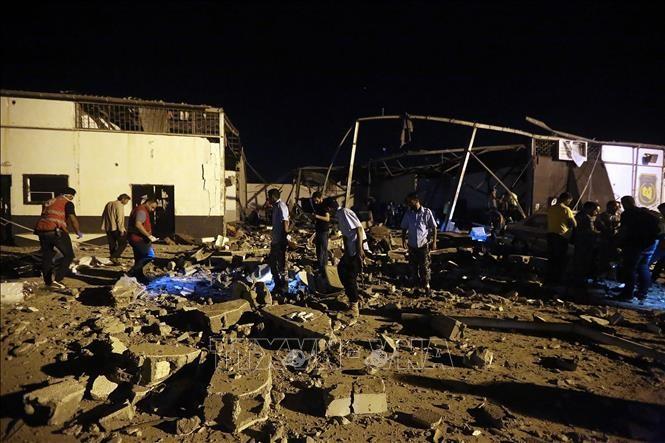 สหประชาชาติเรียกร้องให้ฝ่ายต่างๆในประเทศลิเบียหยุดยิง - ảnh 1