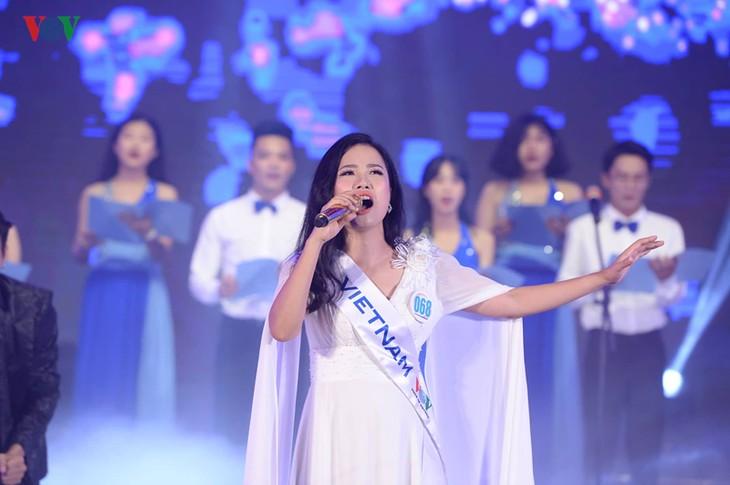 """Bán kết cuộc thi """"Tiếng hát ASEAN+3"""" năm 2019: 10 thí sinh xuất sắc vào chung kết - ảnh 4"""