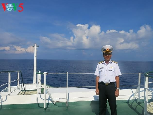 Outstanding commander in Truong Sa - ảnh 1