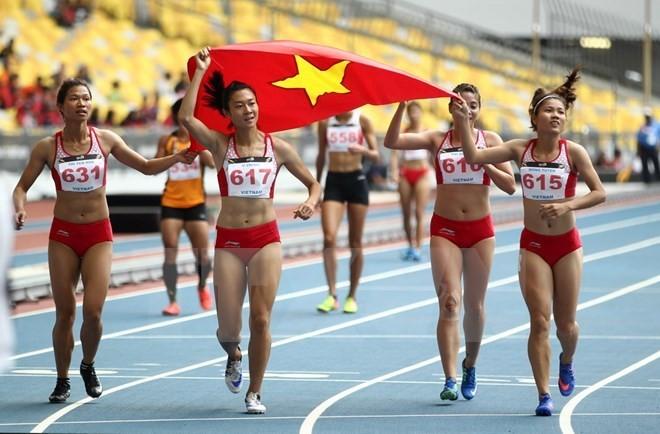 Vietnam fulfills target of being in top three at SEA Games 29 - ảnh 1