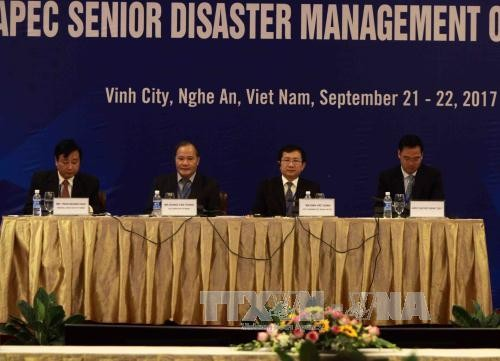 11th Senior Disaster Management Officials Forum opens  - ảnh 1
