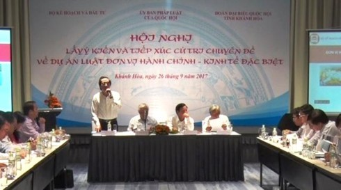 Vietnam seeks breakthrough policies for special administrative-economic zones - ảnh 1