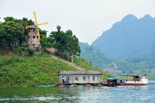 Thung Nai – miniature of Ha Long Bay in northwest - ảnh 4