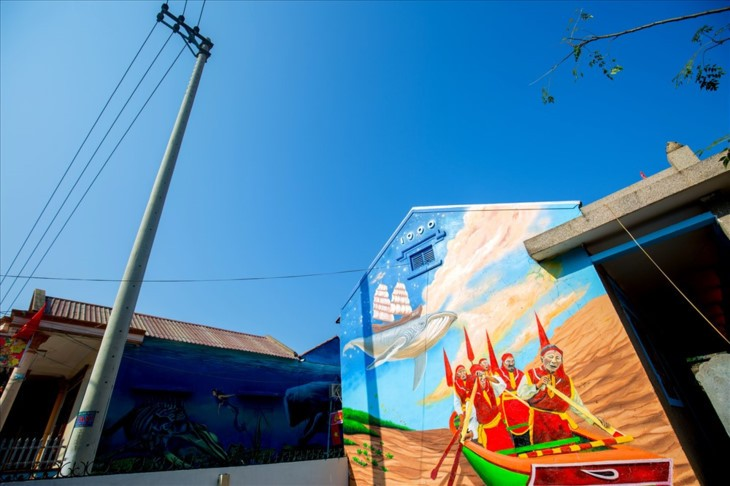 Canh Duong mural village - ảnh 1