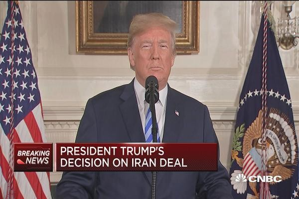 World leaders react to US withdrawal from Iranian nuclear deal - ảnh 1