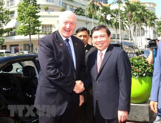 Australia treasures cooperation with HCMC - ảnh 1
