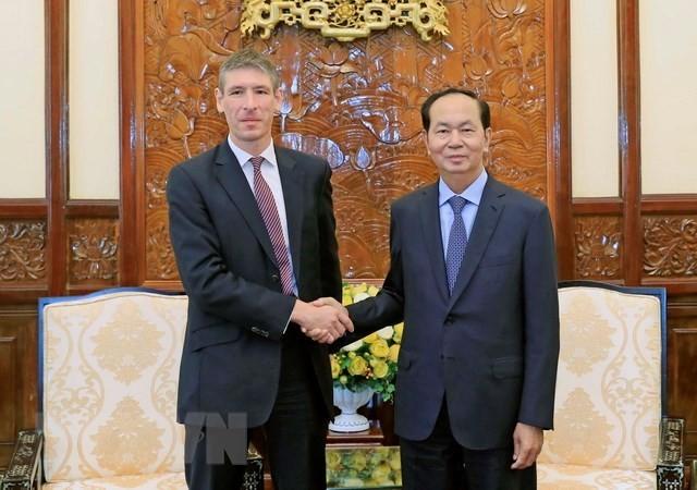Vietnam, UK should utilise cooperation potential: President - ảnh 1