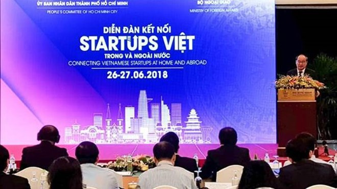 Vietnamese start-up forum concludes - ảnh 1
