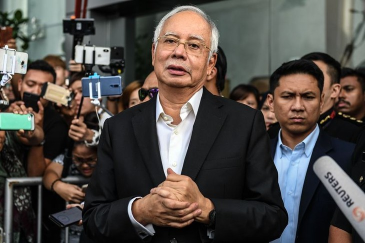 Former Malaysian Prime Minister arrested - ảnh 1