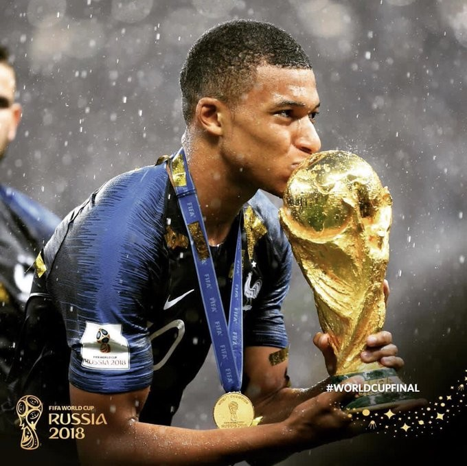 French star Kylian Mbappe donates World Cup earning to charity - ảnh 1