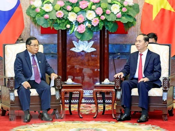 President commends Vietnam-Laos parliamentary cooperation - ảnh 1