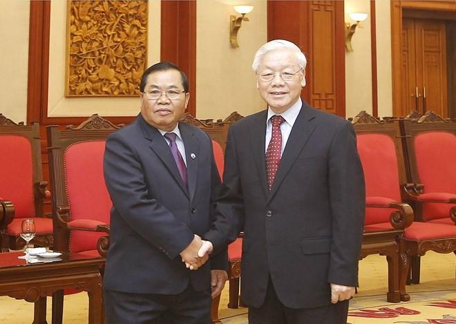 Vietnam, Laos urged to boost legislative ties - ảnh 1