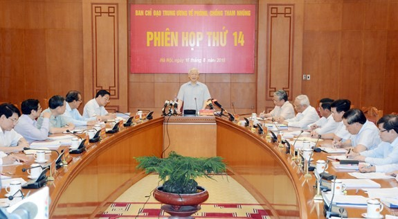 Anti-corruption steering committee convenes - ảnh 1