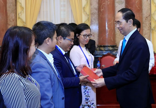 President highlights role of overseas Vietnamese scientists - ảnh 1
