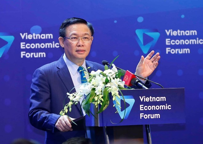 Forum discusses solutions to expand capital-financial market - ảnh 1