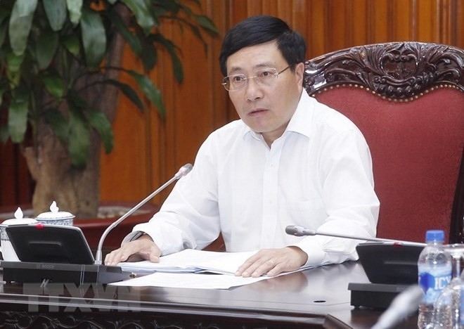 Deputy PM instructs preparations for WEF ASEAN - ảnh 1