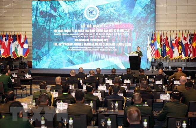 42nd Pacific Armies Management Seminar concludes - ảnh 1