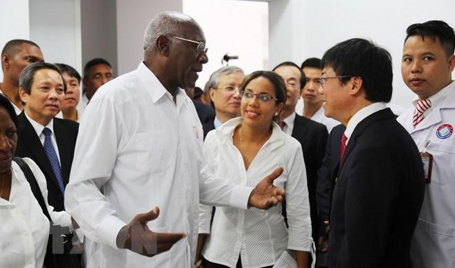Vietnam-Cuba Friendship Dong Hoi Hospital – a 'gem' of friendship - ảnh 1