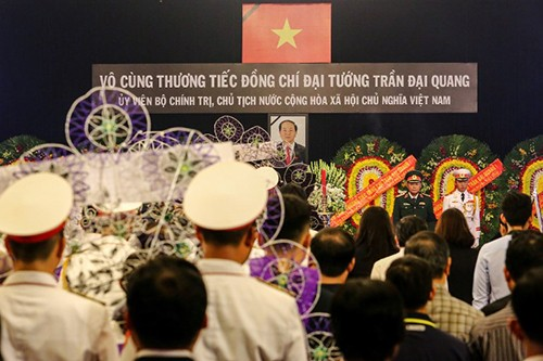 Foreign media cover President Tran Dai Quang's funeral - ảnh 1