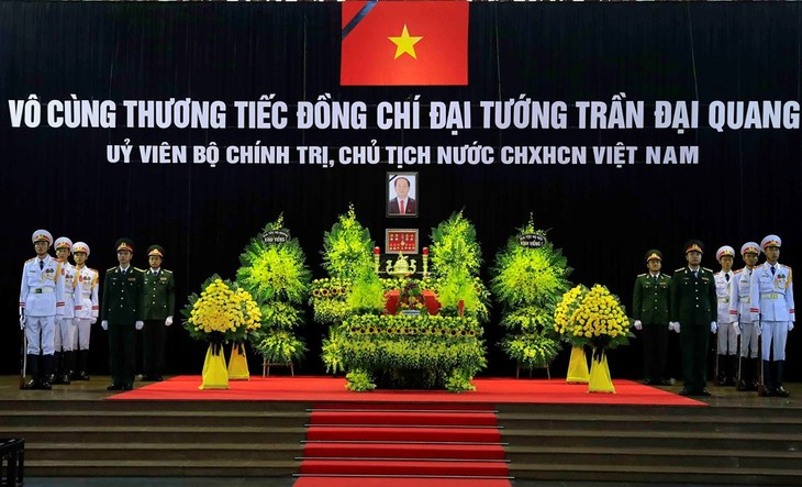 State funeral held for President Tran Dai Quang - ảnh 1