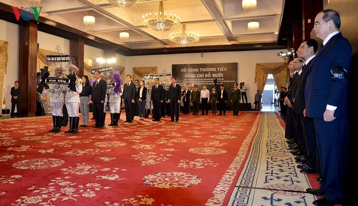 Foreign delegations pay tribute to former Party leader Do Muoi - ảnh 2