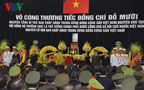 Memorial service held for former Party General Secretary Do Muoi - ảnh 1