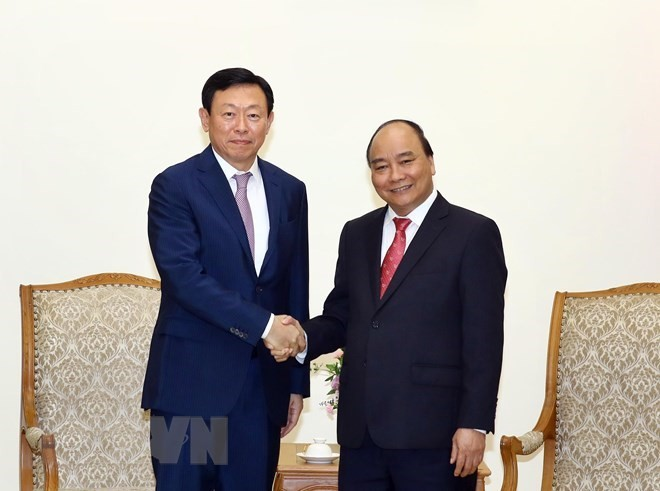 PM asks Lotte Group to support Vietnamese start-ups - ảnh 1