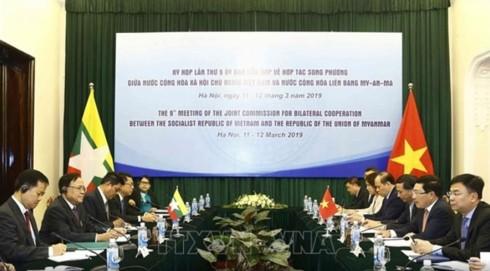 Vietnam, Myanmar to raise bilateral trade to 1 billion USD - ảnh 1