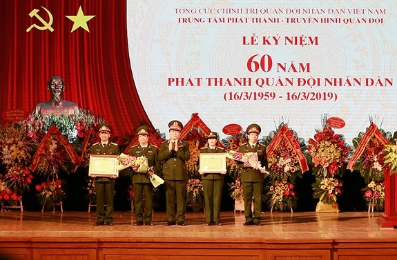 Army broadcast marks its 60th anniversary - ảnh 1