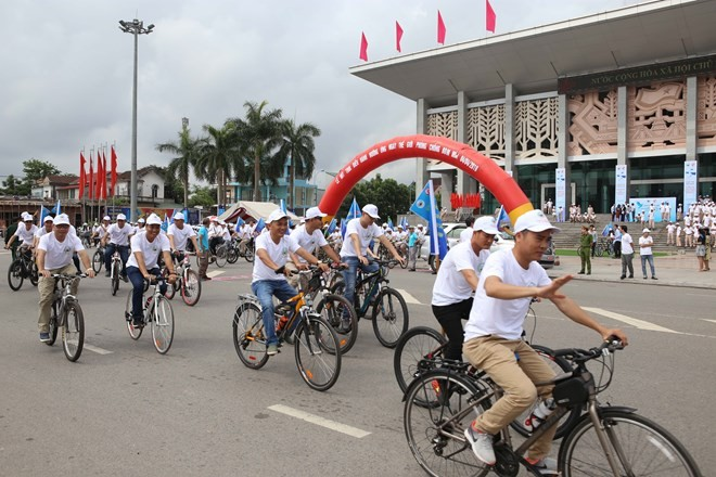 Quang Tri ceremony marks Int'l Mine Awareness Day - ảnh 1