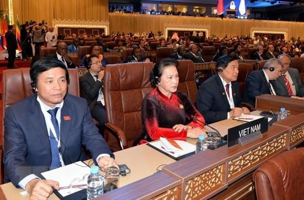 NA Chairman Nguyen Thi Kim Ngan attends 140th-IPU Assembly - ảnh 1