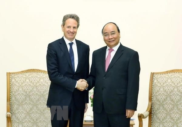 PM appreciates Warburg Pincus' investment in Vietnam - ảnh 1
