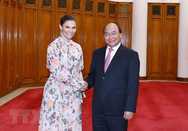Government leader hosts Swedish Crown Princess - ảnh 1