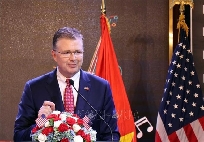 Hanoi ceremony marks US's 243rd Independence Day - ảnh 1