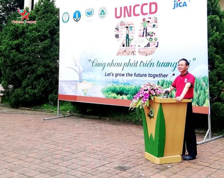 Vietnam strengthens fight against desertification, land degradation - ảnh 1
