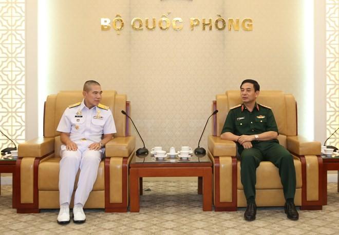 Naval forces of Vietnam, Thailand foster partnership - ảnh 1