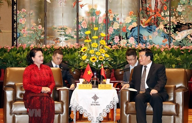 China's Jiangsu province wants to boost ties with Vietnam - ảnh 1