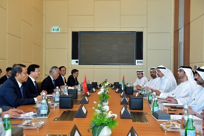 Vietnam, UAE determined to raise trade to 10 billion USD - ảnh 1