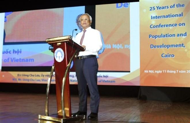 Meeting marks World Population Day in Hanoi - ảnh 1