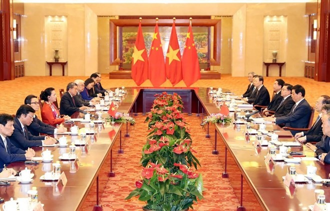 Vietnamese NA leader wraps up official visit to China - ảnh 1