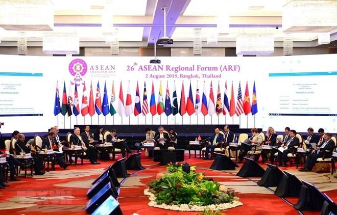 Vietnam attends 26th ASEAN Region Forum - ảnh 1