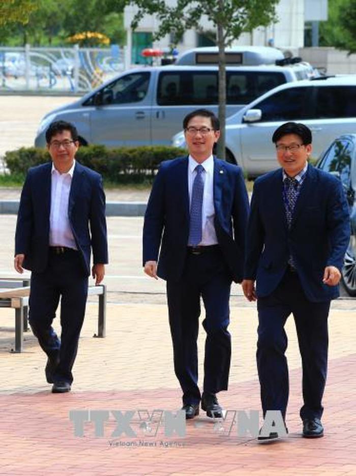 韩国统一部次官会见美国朝鲜问题代表 - ảnh 1