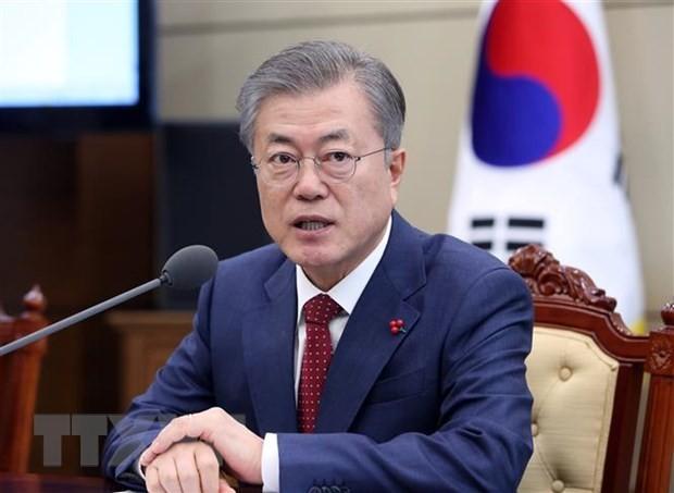 """美朝首脑峰会:韩国总统评价这是""""有意义""""的进展 - ảnh 1"""